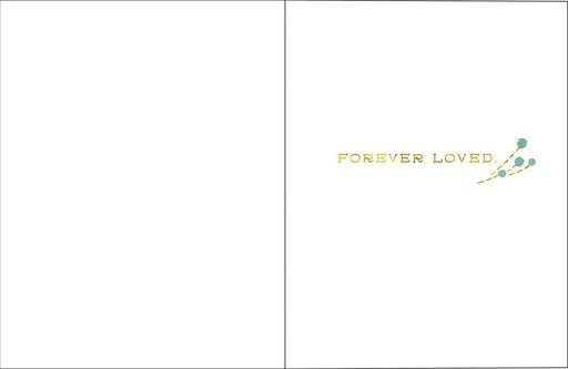 Forever Loved Sympathy Card,