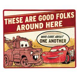 Disney/Pixar Cars Lightning McQueen and Mater Tin Sign, , large