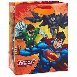 "JUSTICE LEAGUE™ Medium Gift Bag, 9.5"", , large"