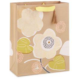 """Modern Floral X-Large Gift Bag, 15.5"""", , large"""