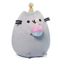 "Pusheen Birthday 10.5"" Stuffed Animal by GUND, , large"