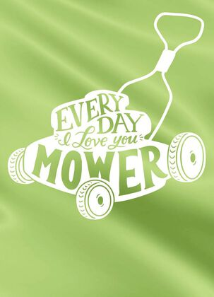 Mower and Mower Love Card