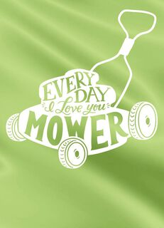 Mower and Mower Love Card,