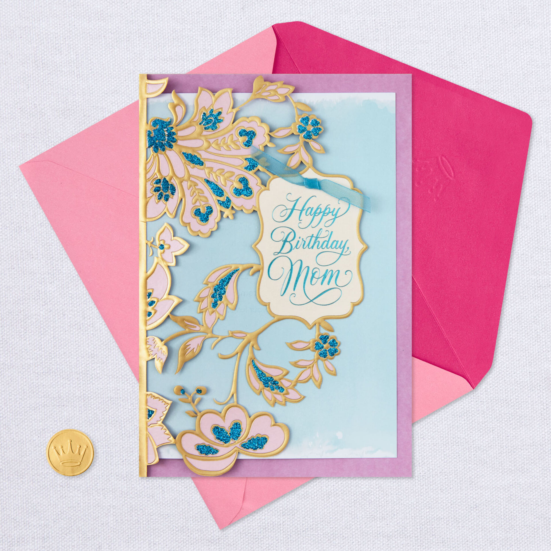 Grateful To Be Your Daughter Birthday Card For Mom Greeting Cards Hallmark