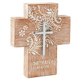 One Prayer at a Time Cross, , large