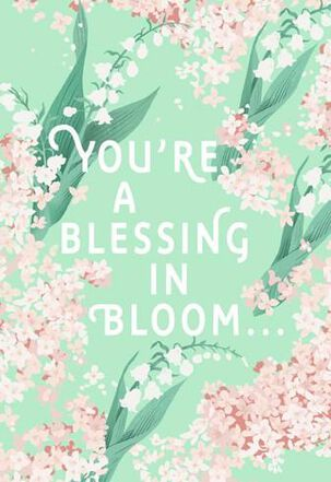 Blessing in Bloom Easter Card