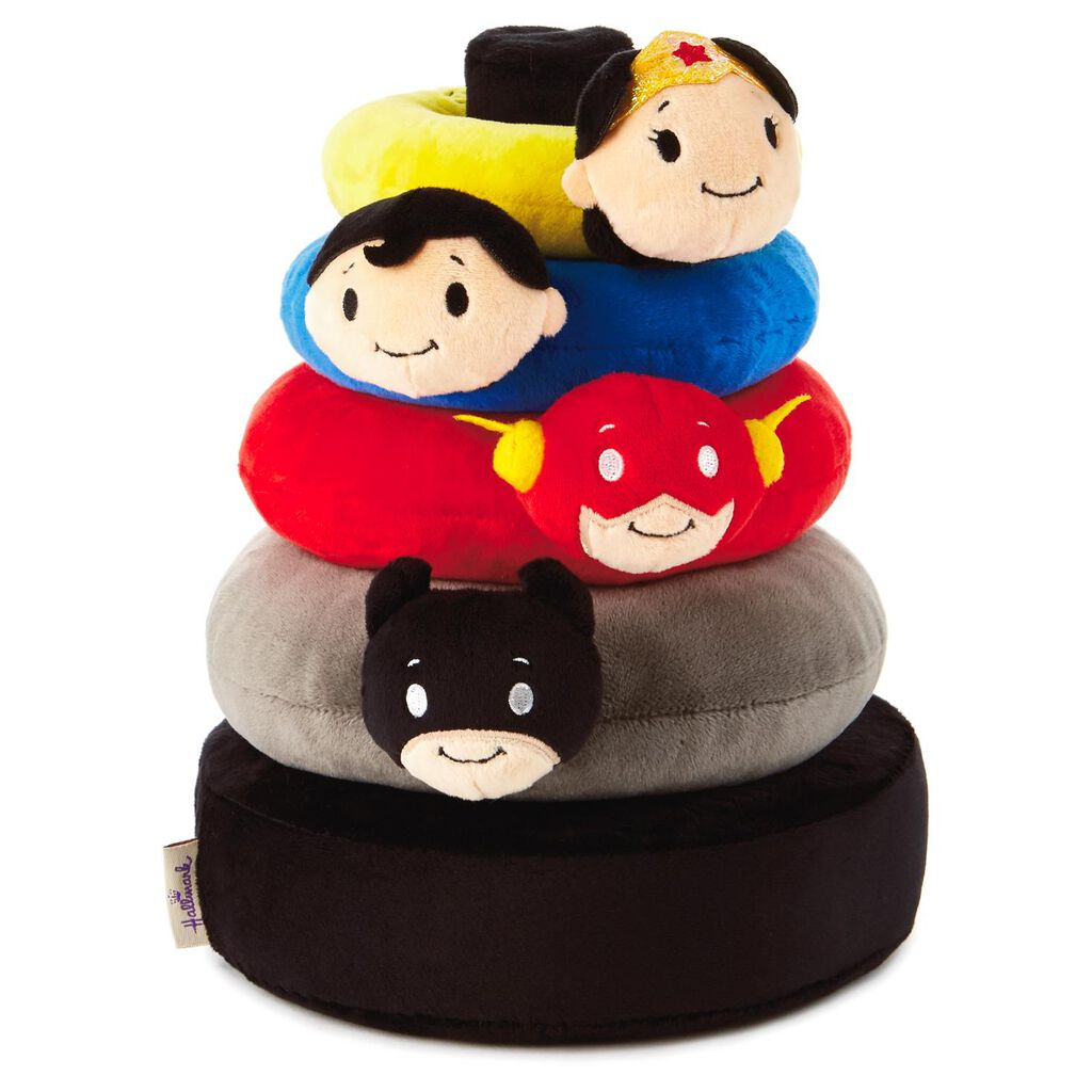 7e15a2cc itty bittys® DC Comics Super Hero Baby Stuffed Animal Stacker - Baby  Essentials - Hallmark