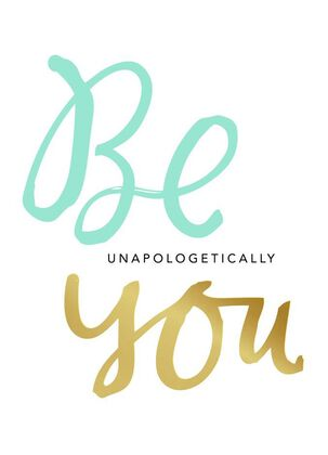 Be You Just Because Card