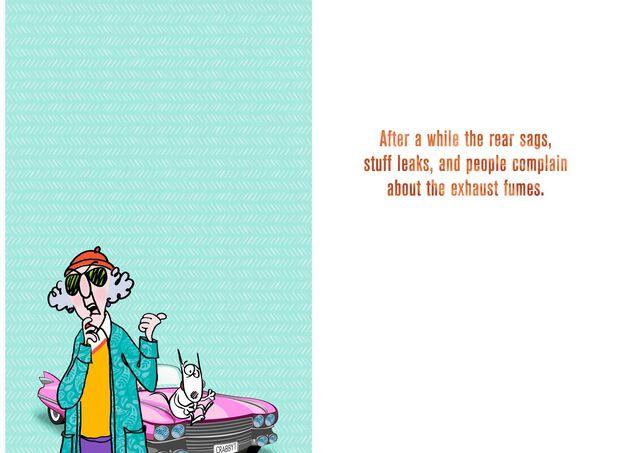 MaxineTM Like A Classic Car Funny Birthday Card
