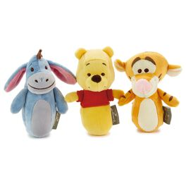 Winnie the Pooh Stuffed Baby Rattles—Set of 3, , large
