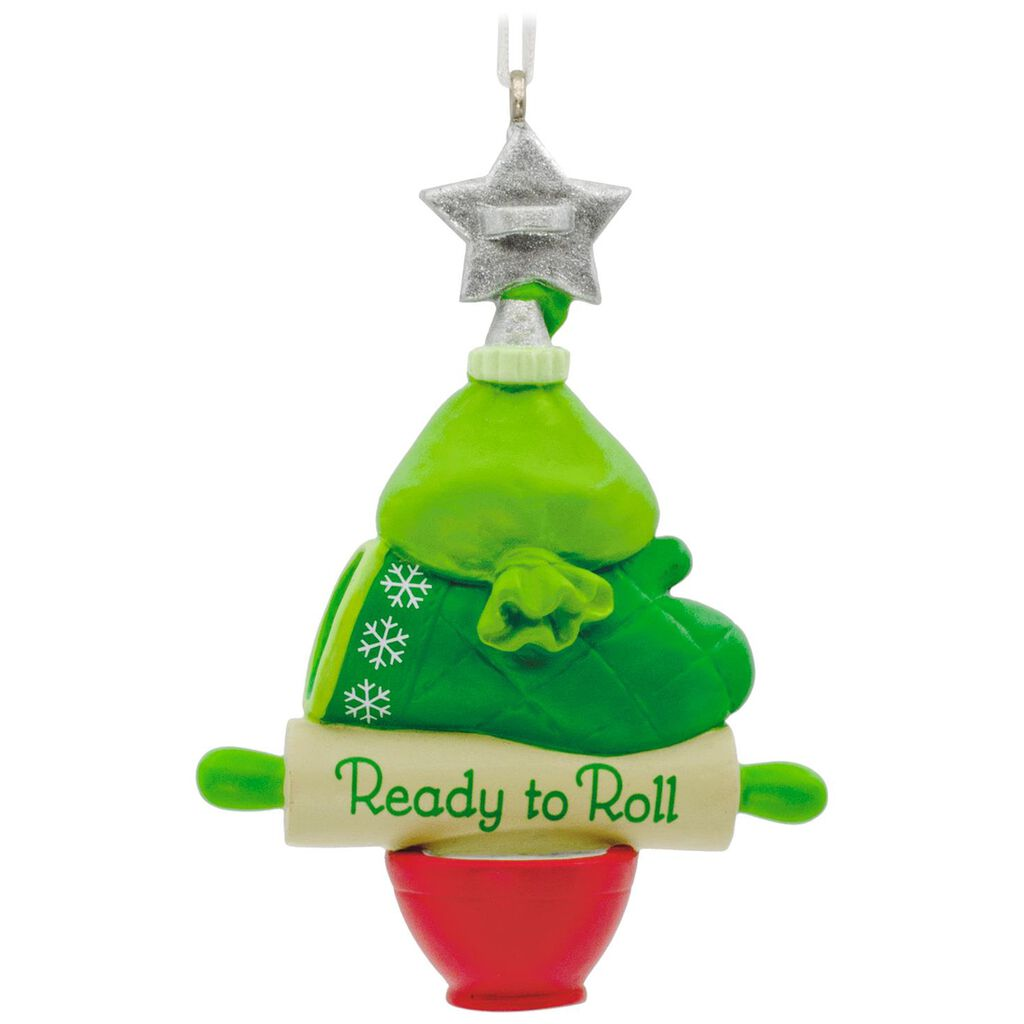 ready to roll baking christmas tree hallmark ornament gift