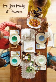 Family Table Passover Card,