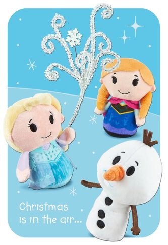 Frozen itty bittys® Christmas Card - Greeting Cards - Hallmark