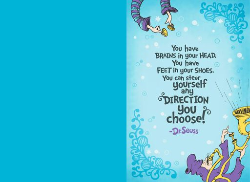 Dr. Seuss™ Oh, the Places You'll Go! Graduation Card,