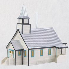 When Calls The Heart Hope Valley Church Porcelain Ornament