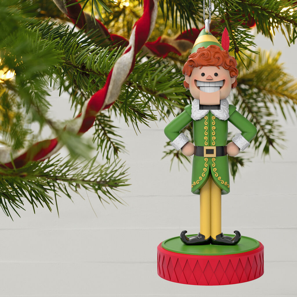 Ornament With Sound Elf™ Son of a Nutcracker!