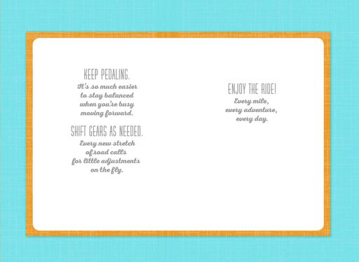 Rules for the Road Graduation Card,