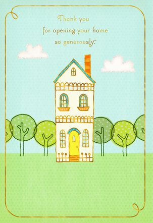 Little House Hospitality Thank You Card
