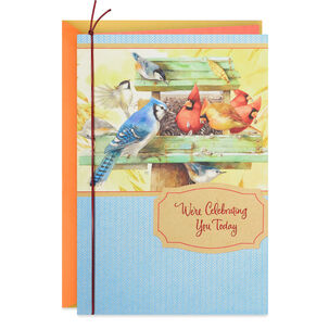 We're Celebrating You Marjolein Bastin Birthday Card From Both