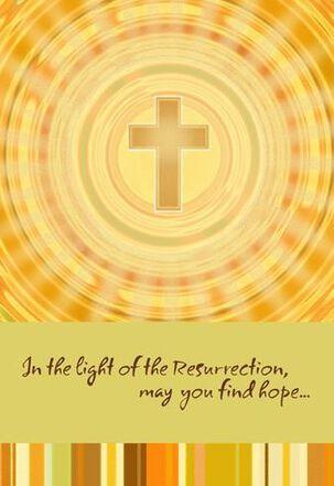 Light of the Resurrection Easter Card