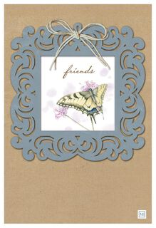A Beautiful and Unique Friend Marjolein Bastin Card,