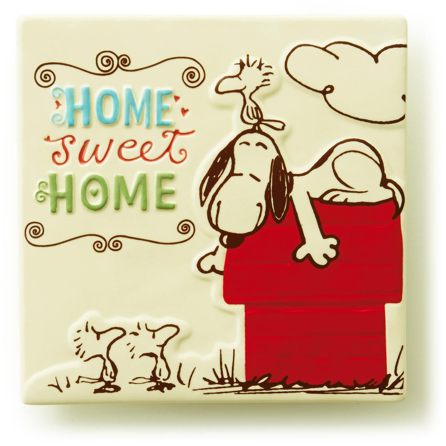 Home Sweet Home Ceramic Tile Plaques Signs Hallmark