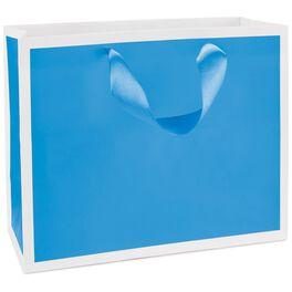"""Fiesta Blue Medium Gift Bag, 7.75"""", , large"""