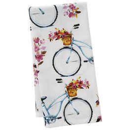 Bike Tea Towel, , large