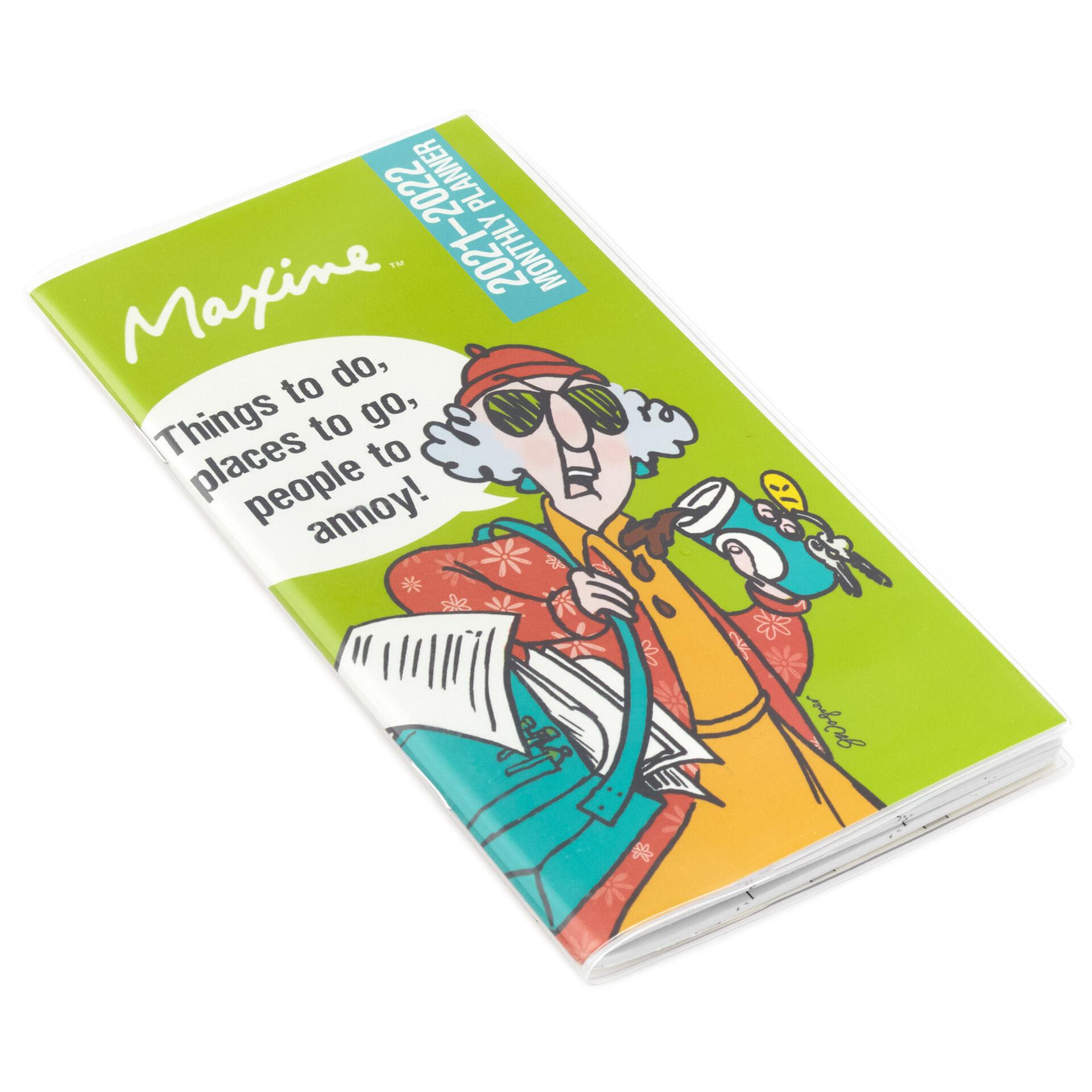 Maxine Calendar 2022.Office Products Maxine Daily 2021 Calendar Office Supplies
