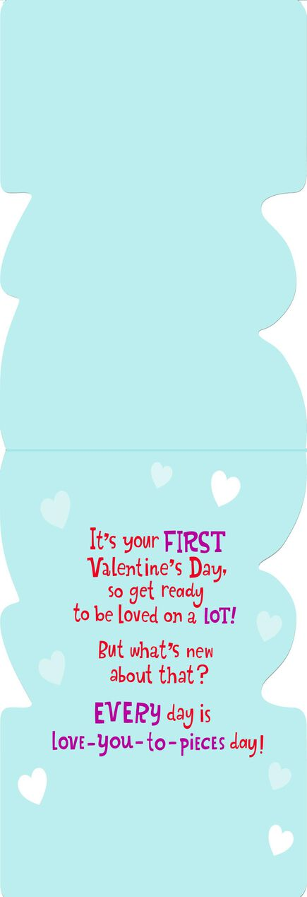 Peanuts Snoopy on Doghouse First Valentines Day Card for – First Valentine Day Card