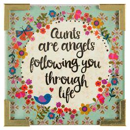Natural Life Corner Magnet Aunts Are Angels, , large