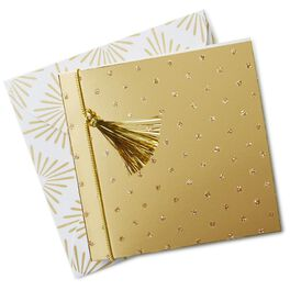 Gold Dots Gift Tag With Envelope, , large