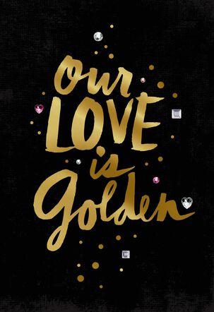 Jill Scott Our Love Is Golden Love Card