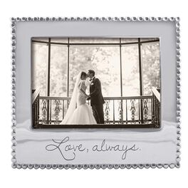 Love Always Silver Aluminum Photo Frame, 5x7, , large
