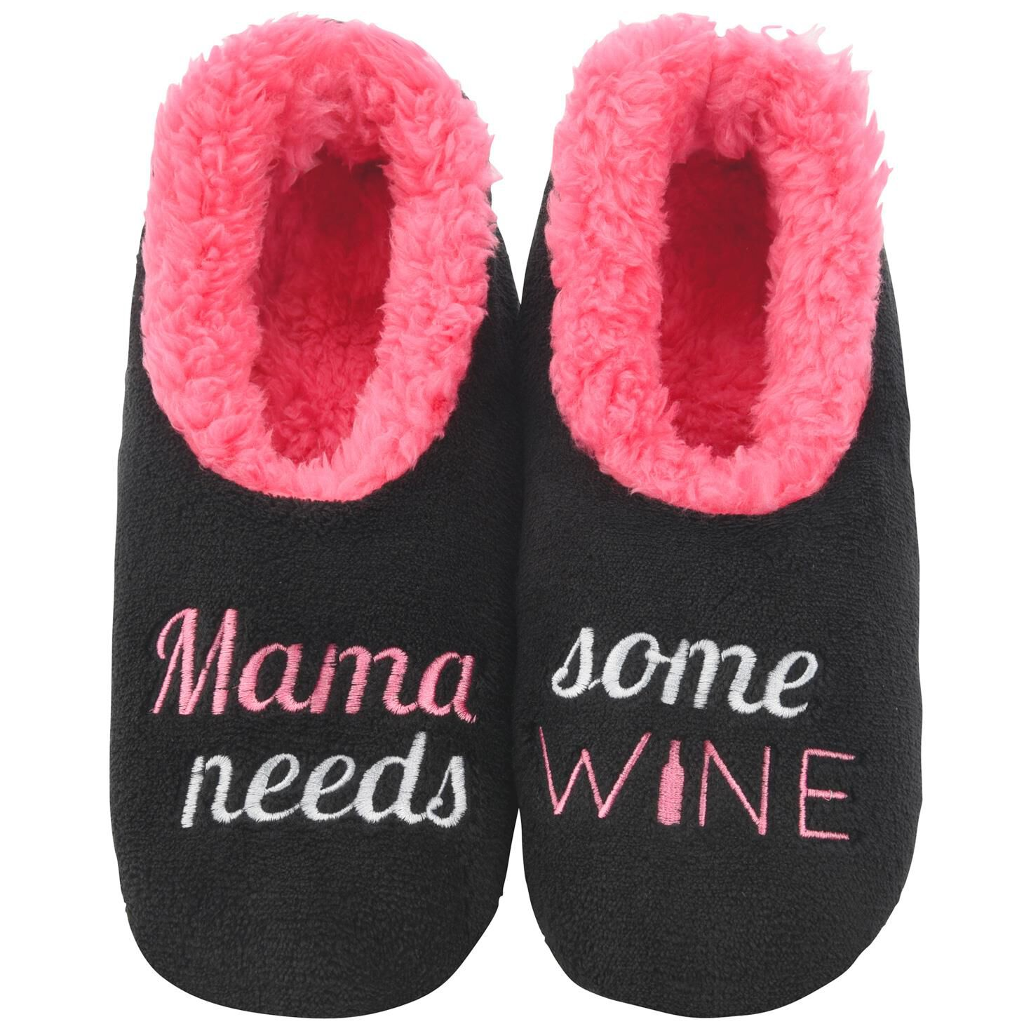 Image result for mama needs some wine slippers
