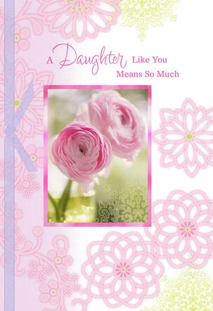 Grateful for You Mother's Day Card for Daughter