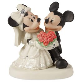 Precious Moments® You Are My Fairy Tale Mickey and Minnie Mouse Figurine, , large
