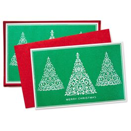 Sparkling Season Christmas Cards, Box of 40, , large