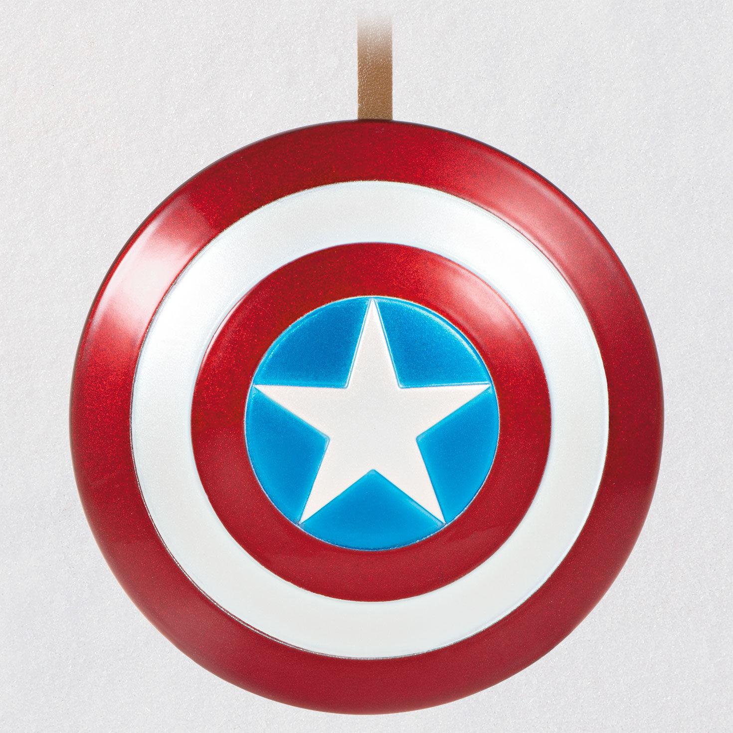 Marvel Captian America Shield Jungle Floral Shirt Christmas  M