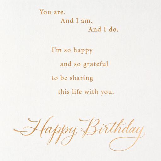 Paisley Vine Birthday Card For Husband
