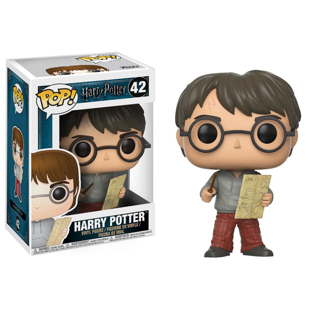 30c44dc6f97 Harry Potter FUNKO Pop! Harry Potter With Marauder s Map Vinyl Figurine - Collectible  Toys - Hallmark