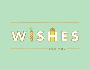 Wishes for You Birthday Card