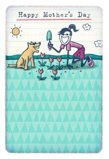 Life is Good® Happy Gardener Mother's Day Card,