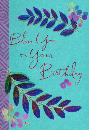 Becoming What God Wants You to Be Birthday Card