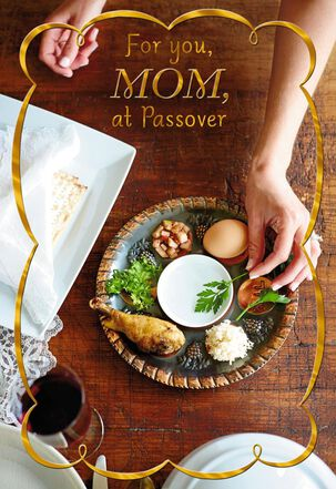 Seder Memories Passover Card for Mom