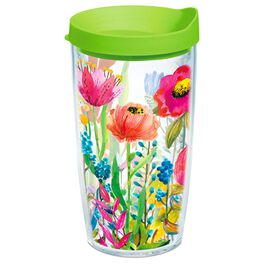 Tervis® Watercolor Wildflowers Tumbler, 16 oz., , large
