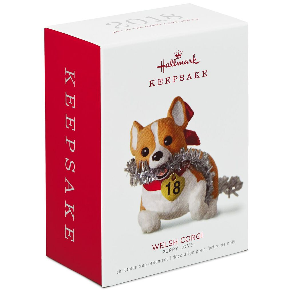 Puppy Love Welsh Corgi 2018 Ornament - Keepsake Ornaments - Hallmark