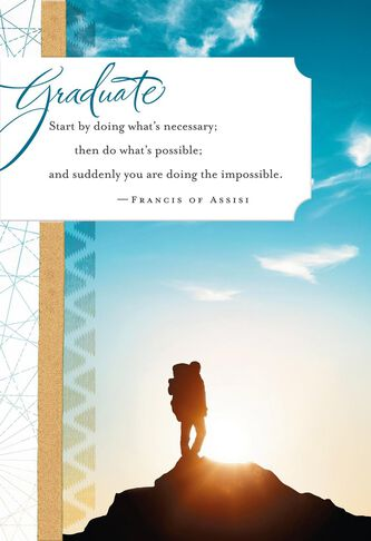 GodS Amazing Plans For You Religious Graduation Card  Greeting