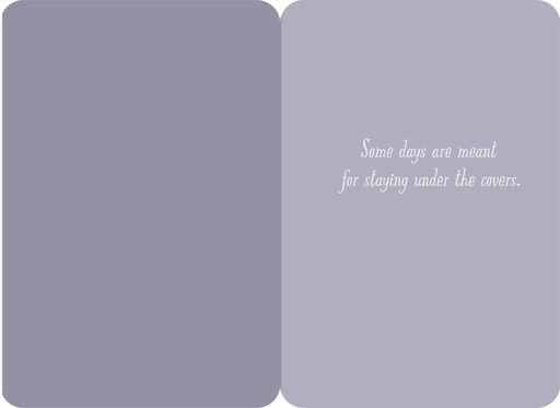 Puppy Under the Covers Encouragement Card,