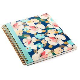 Artful Floral Spiral Notebook, , large